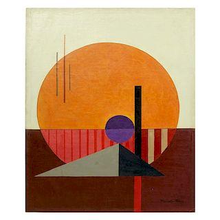 Attrib: Laszlo Moholy-Nagy O/B