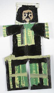 Mary Tillman Smith (1904-1995) Painting on Metal