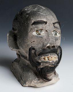"James ""Son Ford"" Thomas (1926-1993) Sculpture"