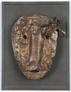"Jerry Coker (American, b. 1938) ""Identity Mask"""