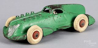 Hubley cast iron streamline racer