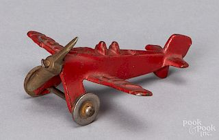 Hubley cast iron Air Ford airplane