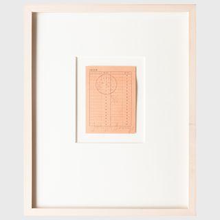 Joseph Beuys (1921-1986): Order