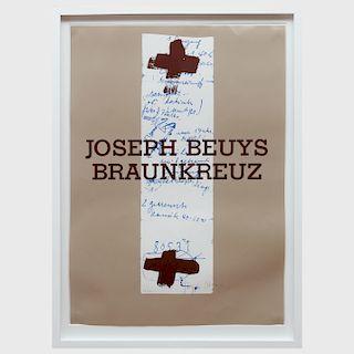 Joseph Beuys (1921-1986): Joseph Beuys, Braunkreuz