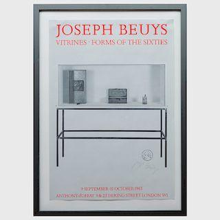 Joseph Beuys (1921-1986): Joseph Beuys, Vitrines, Forms of the Sixties