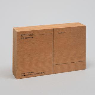 Joseph Beuys (1921-1986): Wood Postcard