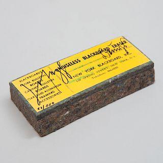 Joseph Beuys (1921-1986): Noiseless Blackboard Eraser