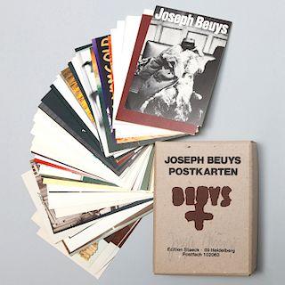 Joseph Beuys (1921-1986): Postkarten