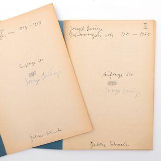 Joseph Beuys (1921-1986): Drawings; and Drawings II