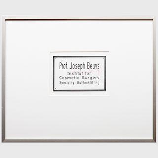 Joseph Beuys (1921-1986): Three Postcards