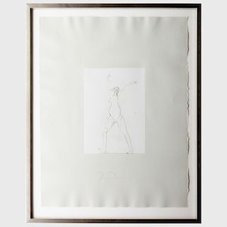 Joseph Beuys (1921-1986): Untitled, from Circulation Time Suite