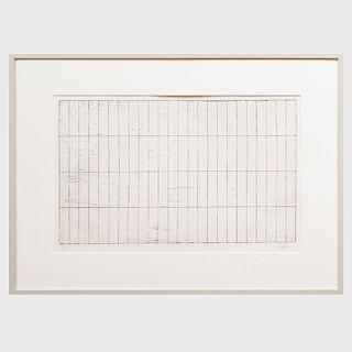 Brice Marden (b. 1938): Grid I