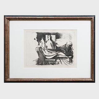 Pablo Picasso (1881 - 1973): Le Peintre et Son Modèle