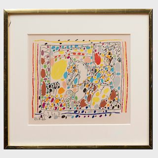 Pablo Picasso (1881-1973): Le Picador II, from A los toros avec Picasso
