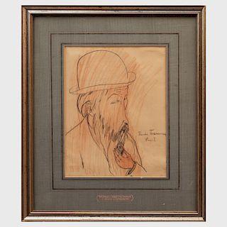 Theodor Tchermoussenko: Portrait of Kees van Dongen