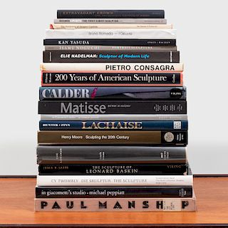 Group of Nineteen Books on Modern Sculpture