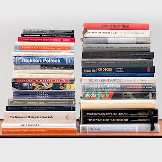 Group of Thirty-Four Museum of Modern Art Exhibition Catalogues