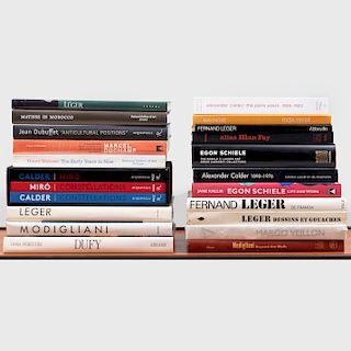 Group of Twenty Books on Modern Masters