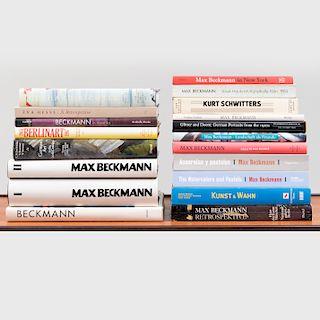 Group of Nineteen Books on German Modern Art