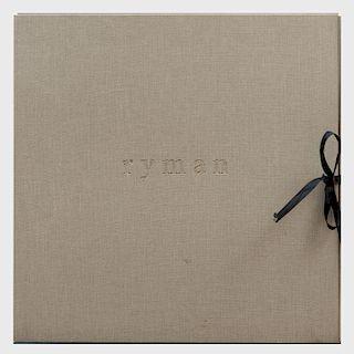 Robert Ryman (1930-2019): Robert Ryman Prints 1969-1993