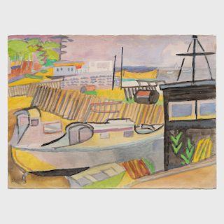 André Lhote (1885-1962): Piquey, Le Bassin d'Arachon