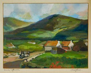 Franz Kline Post Impressionist Landscape Painting