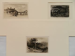 3 prints- S. Coleman, S. Palmer and J. D. Smillie