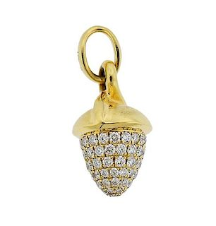 Tamara Comolli Mikado Diamond 18k Gold Pendant