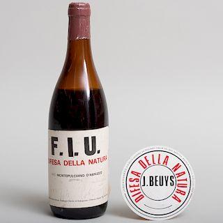Joseph Beuys (1921-1986): F.I.U. Wine Bottle