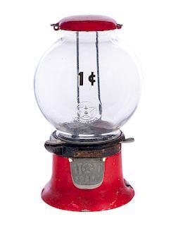 Antique Stein 1 Cent Bubble Gum Dispenser