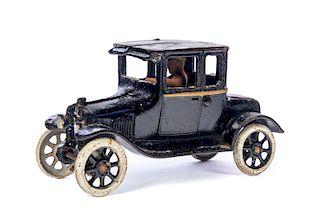 Antique Cast Iron Car and Driver