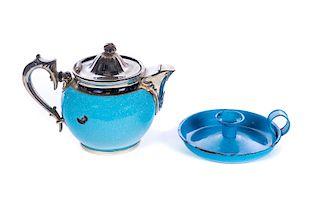2 Blue Granite Ware