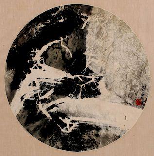 LIU KUOSUNG / KUOSONG LIU (B. 1932) MIXED MEDIA