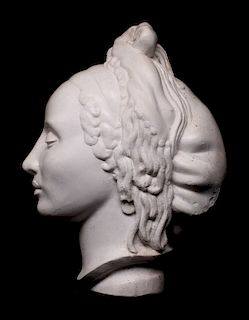 NATHANIEL CHOATE (1899-1965) PLASTER MAQUETTE
