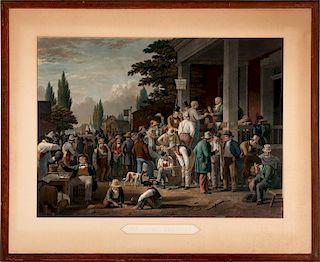 AFTER GEORGE CALEB BINGHAM (1811-1879) MEZZOTINT