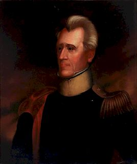PORTRAIT OF ANDREW JACKSON AFTER RALPH E. W. EARL