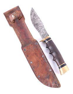 Ralph Bone Knife w/ United States Navy Sheath