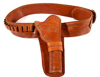 Sonny Cranson Holster, Ammo and Gold Finders Belt
