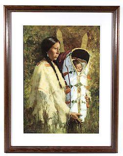 Howard Terpning Pride of the Cheyenne Print