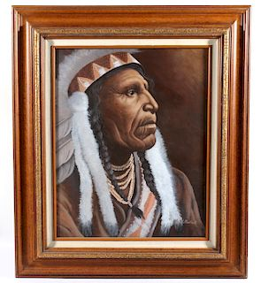 Original Carol Martin Painting Chief Raven Blanket