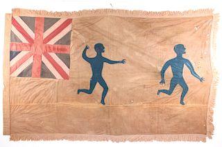 Asafo Warrior Flag from Ghana