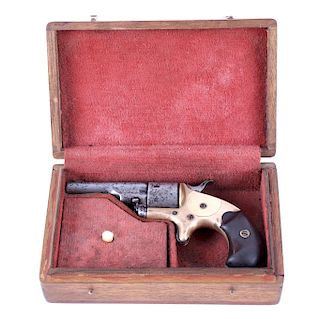 Colt Open Top Pocket .22 Revolver with Case