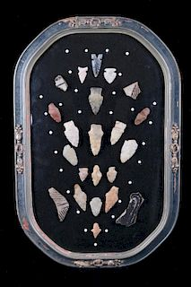 Early Native American Stone & Bead Collection
