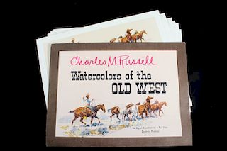 Charlie M. Russell Watercolor Reproduction Prints