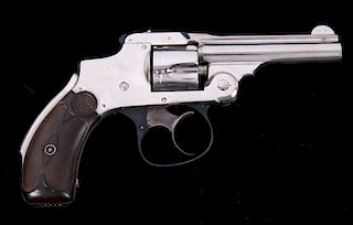 S&W .32 Safety Hammerless First Model Revolver