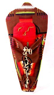Blackfoot Confederacy Pendleton Blanket Papoose