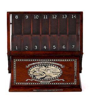 Boye Needle Company Crochet Hook Display Case 1919
