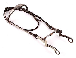 Victor Supreme Silver Overlay Headstall and L7 Bit