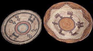 Hand Woven African Tribal Baskets