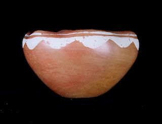 Acoma Polychrome Pottery Circa 1940's